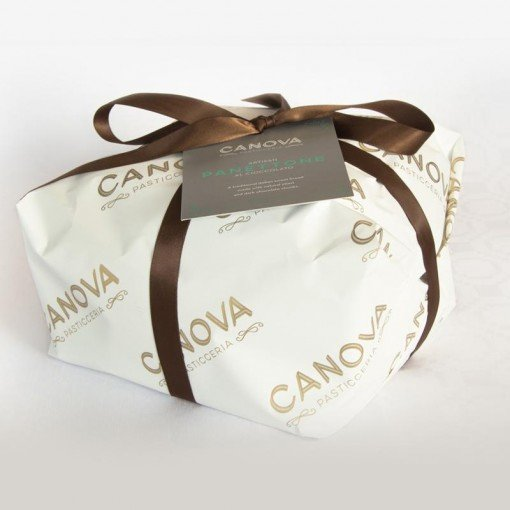 Canova Chocolate Panettone Package
