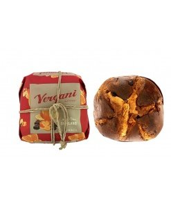 Vergani Panettone and Package from the top